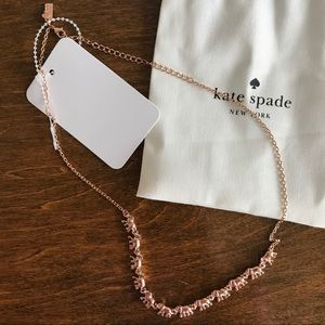 Kate Spade | Elephant Necklace in Rose Gold